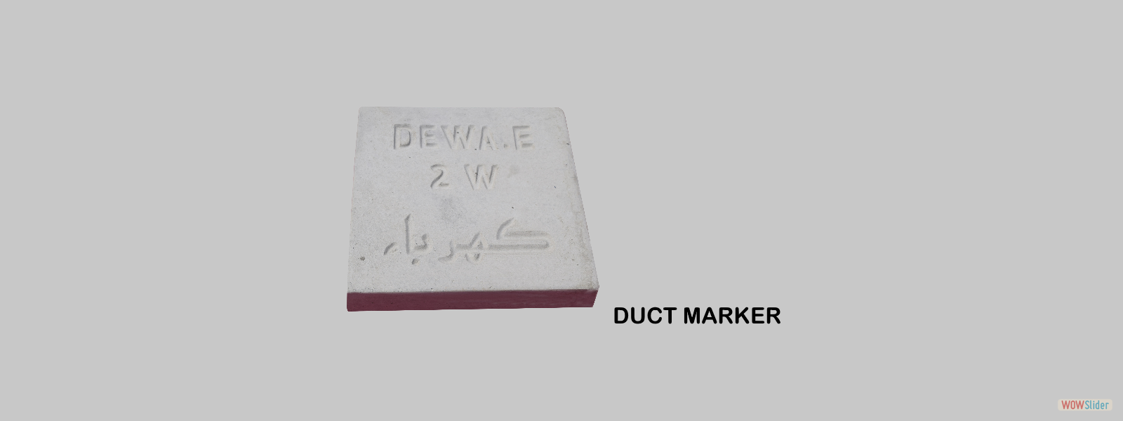 duct marker